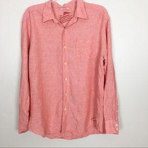 Tommy Bahama Relax 100% Linen Shirt-XL